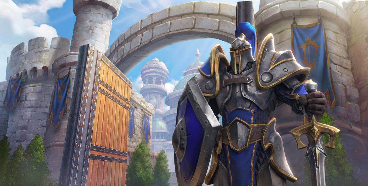 Арт игры Warcraft 3 Reforged