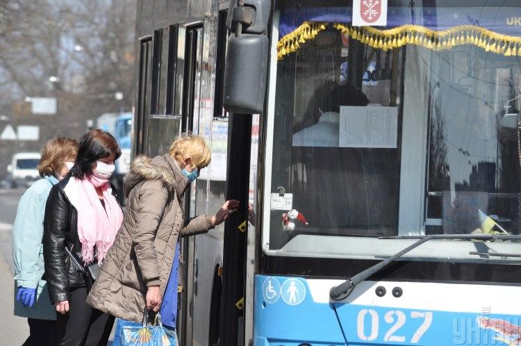 транспорт,коронавірус
