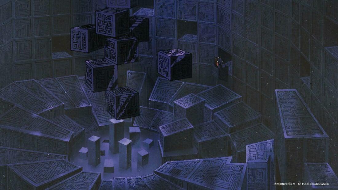 Фон для Zoom от Studio Ghibli
