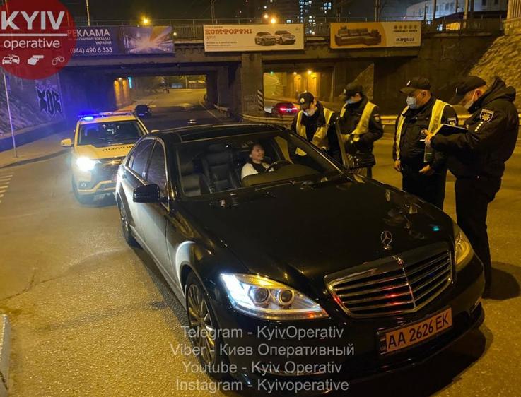 Владимир Слончак ударил патрульного и был задержан
