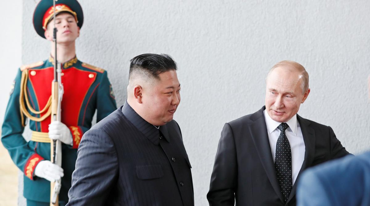 Путін, Кім Чен Ин
