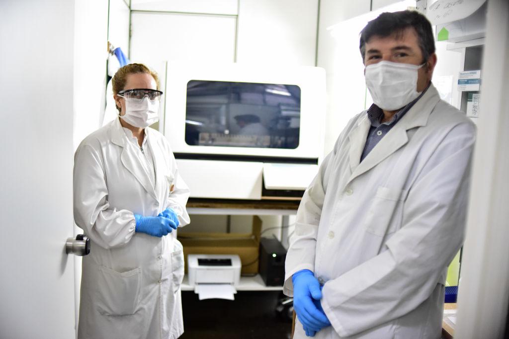 коронавирус лаборатория