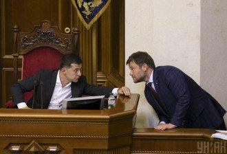 Александр Корниенко утверждает, что Владимир Зеленский никогда не прислушивался только к одному Андрею Богдану – Зеленский и Богдан