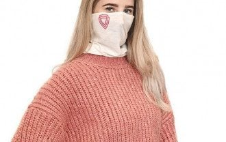 коронавирус, шарф