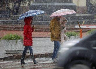Київ, мокрий сніг