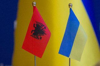 Албанія, Україна