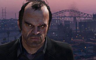 Кадр з Grand Theft Auto V