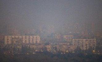 Київ, пил