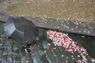 дощ, парасолька