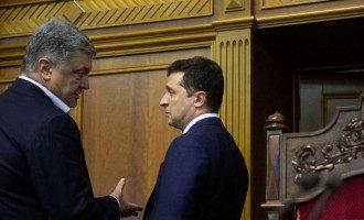 Зеленский утверждает, что Порошенко ему не интересен