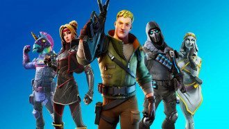 Арт игры Fortnite