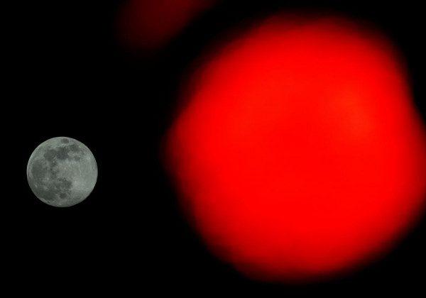 Рожевий Місяць 2020 у Відні – Рожевий супермісяць 2020 квітень