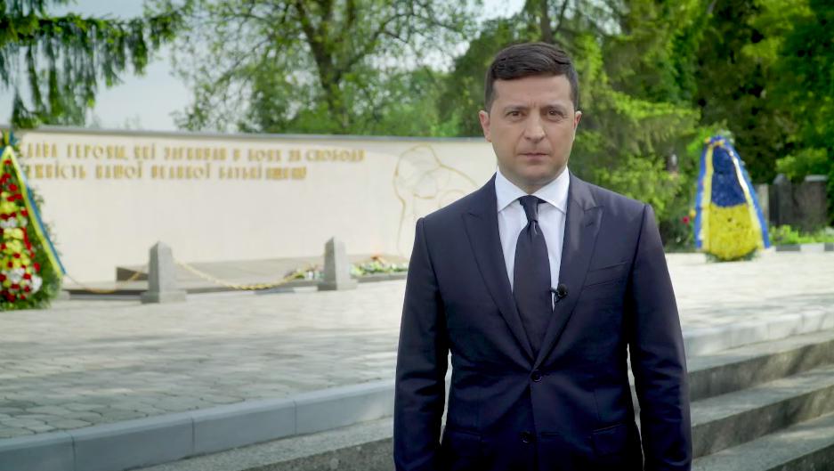 Владимрр Зеленський записав відеозвернення до українців