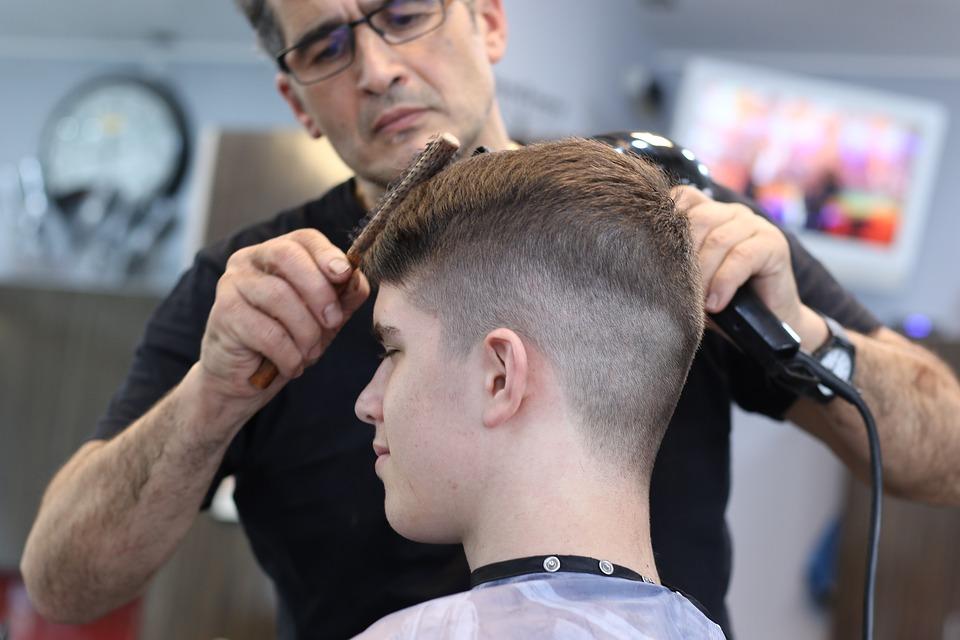 перукарня, стрижка
