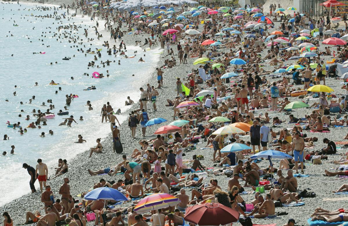 пляж,літо