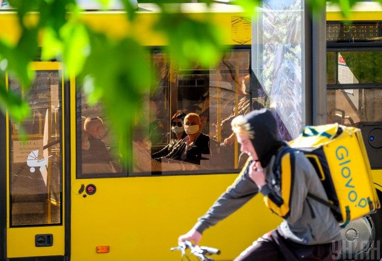 Київ, автобус