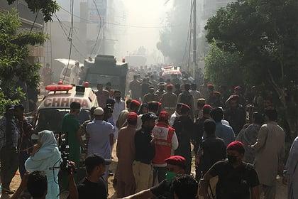 Авиакатастрофа Пакистан