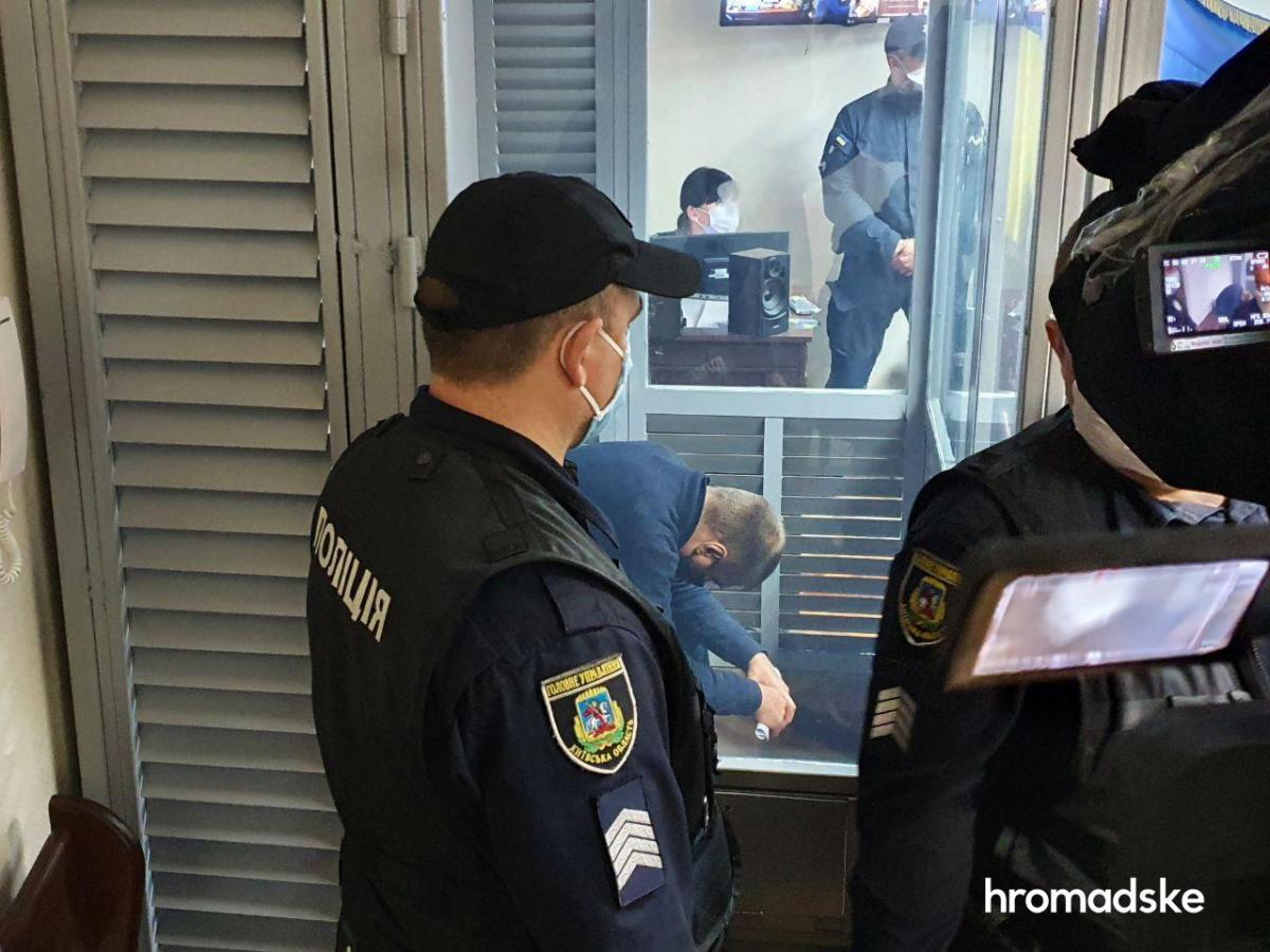 Избрание меры пресечения фигуранту дела об изнасиловании в Кагарлыке Сергею Сулиме