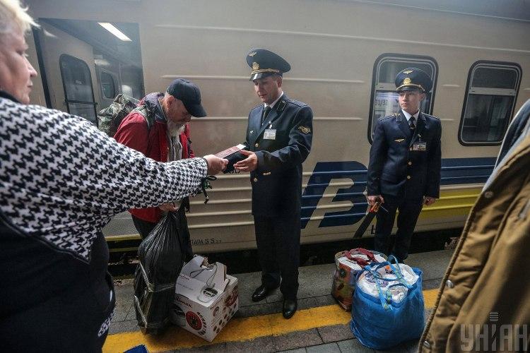 Поїзд,Укрзализнц