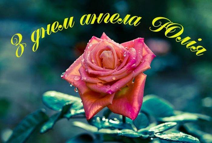 день ангела юлії поздоровлення картинки