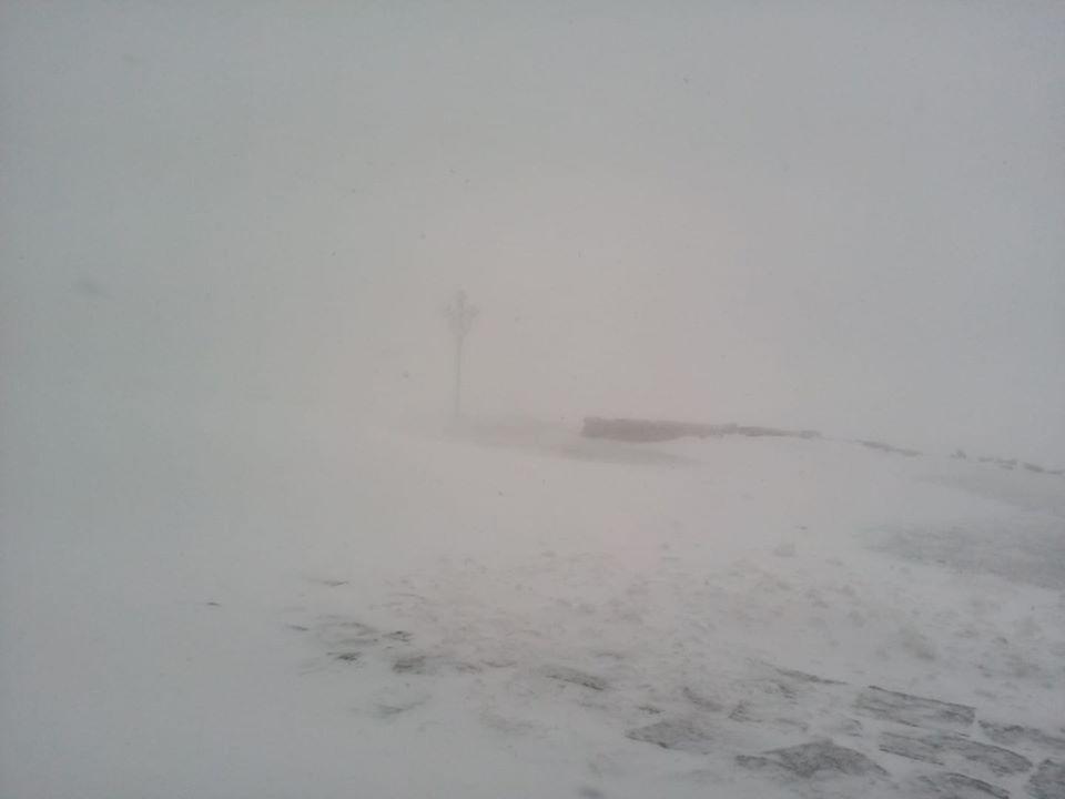 Карпати 31 травня замело снігом