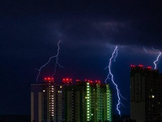 Синоптики попередили, що у неділю Україну накриють грози – Погода в Україні
