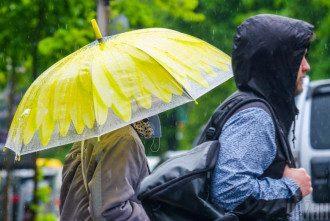 весна, дощ, Парасолька