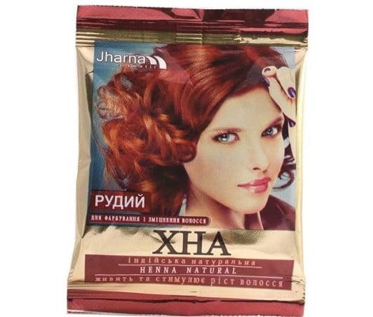 Хна для фарбування волосся / Instagram