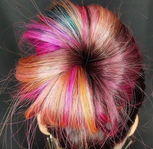 Иногда цвет волос - крик души / Instagram