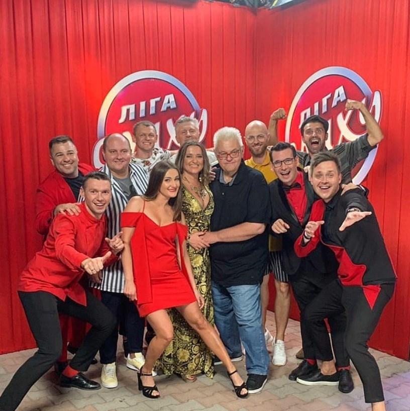 Тарас Стадницкий с VIP Тернополь на Лиге Смеха