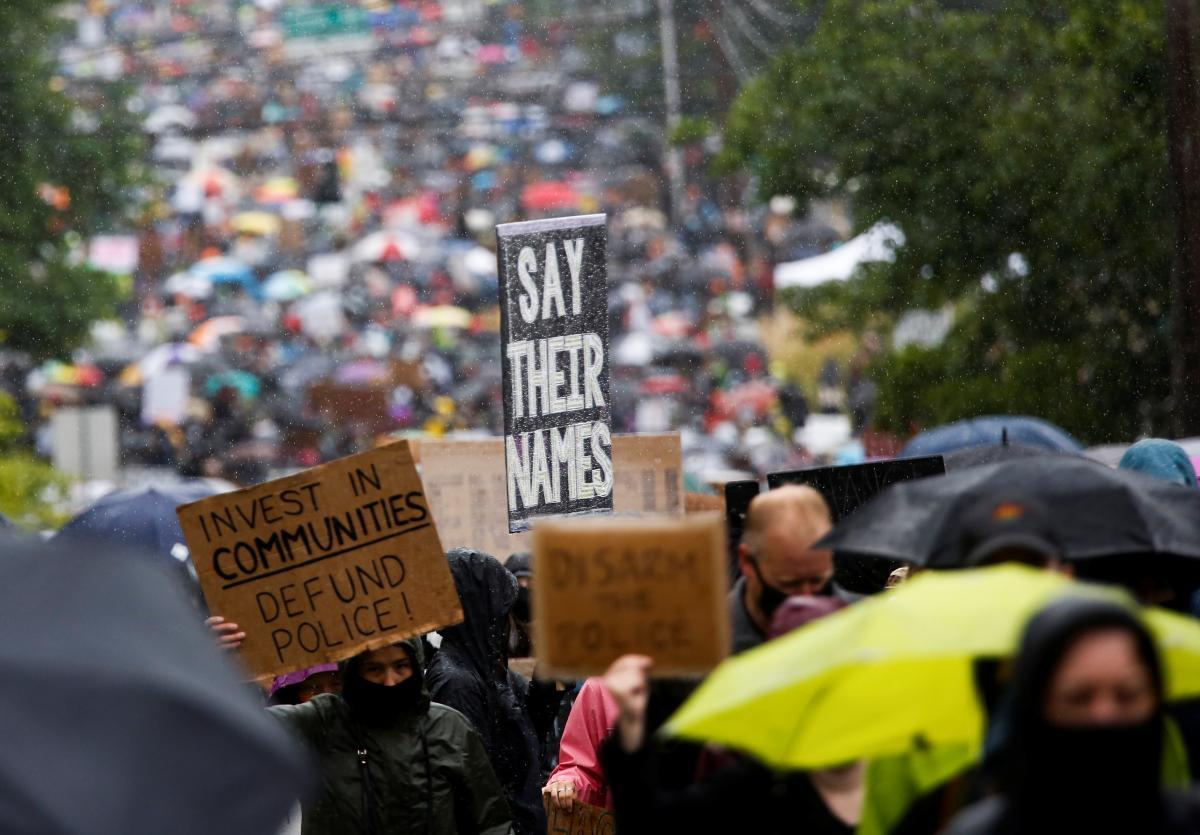 сиэтл протесты в сша