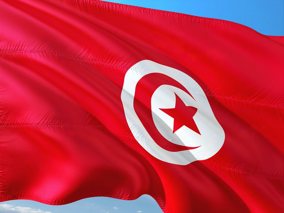 Тунис , флаг Туниса