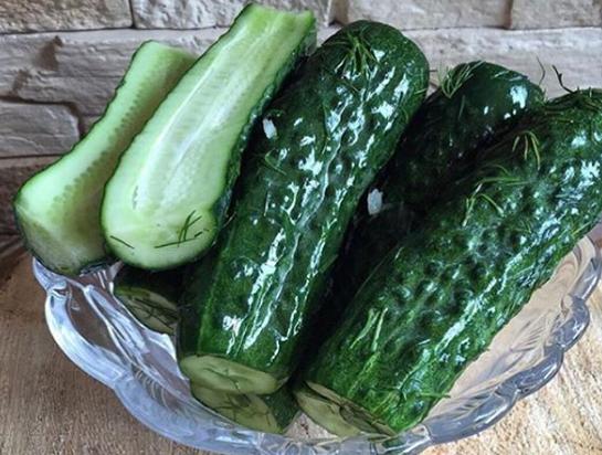 Отличная летняя закуска может дойти до готовности в пакете максимум за 10 часов – Малосольные огурцы рецепт хрустящие