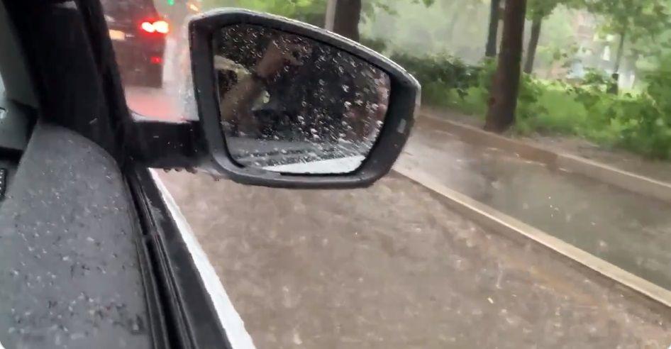 Злива в Москві 20 червня 2020