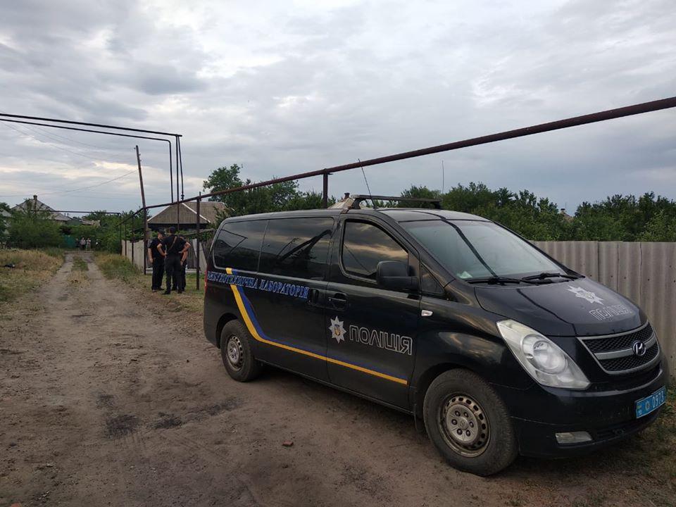 Взрыв в Станице Луганской