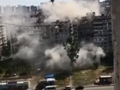 У Києві в результаті вибуху пошкоджено кілька поверхів будинку – Новини Києва