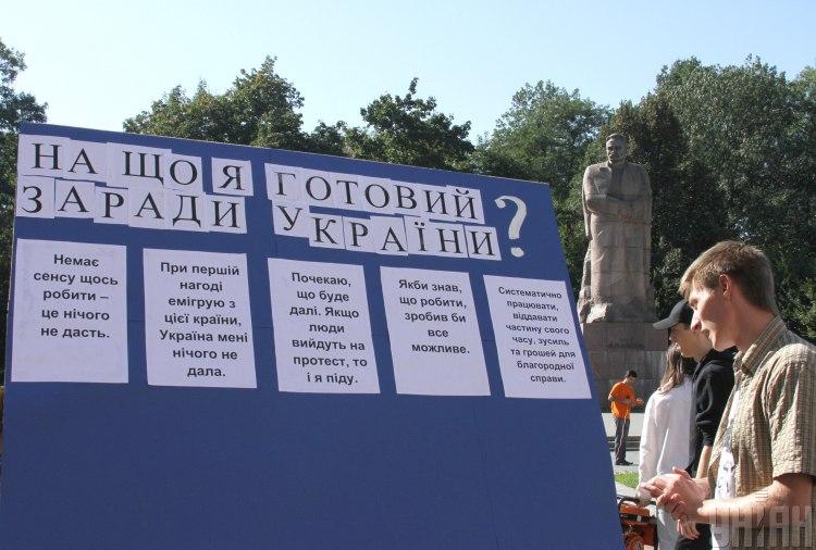 Опитування, Україна
