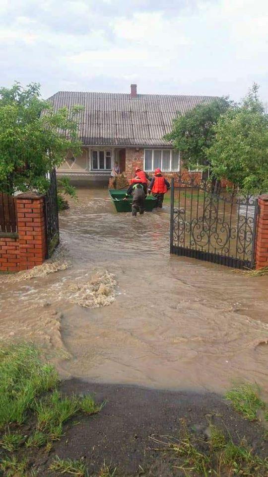 Непогода на западе Украины