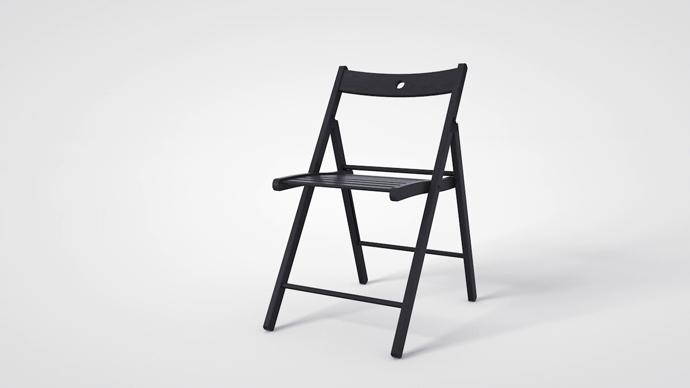 Раскладные стулья Terje делают из украинского бука