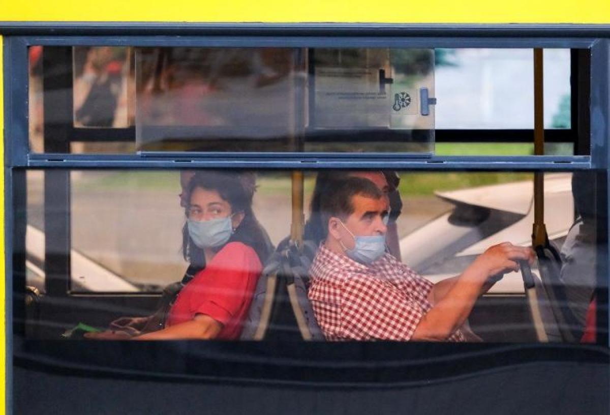 Карантин, автобус