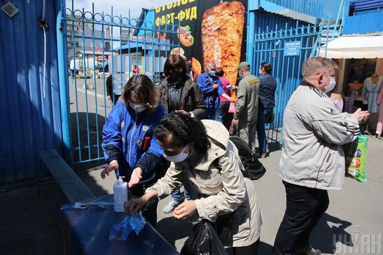 На ринку в Києві спалах вірусу з Китаю – Коронавірус Київ
