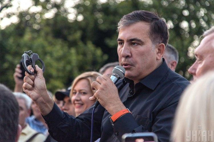 Саакашвілі сказав, що в Україні немає держави – Саакашвілі новини