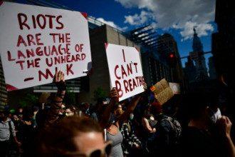 протесты в сша i cant breathe