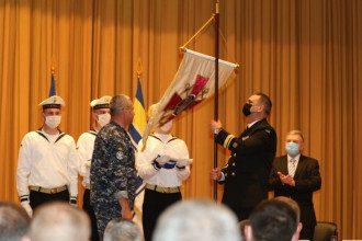 Таран представил командующего ВМС и объявил новую должность Воронченко / Фото: пресс-служба ВМС Украины