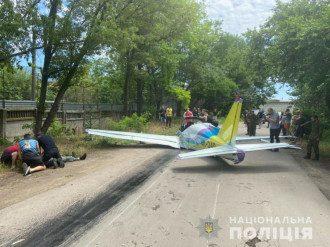 В Одессе рухнул самолет / od.npu.gov.ua