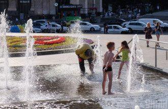 фонтан,спека