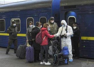 Поезда, Украина, Россия