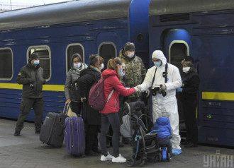 Потяги, Україна, Росія
