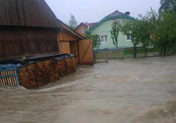 На Прикарпатье затопило часть села – Новости Прикарпатья