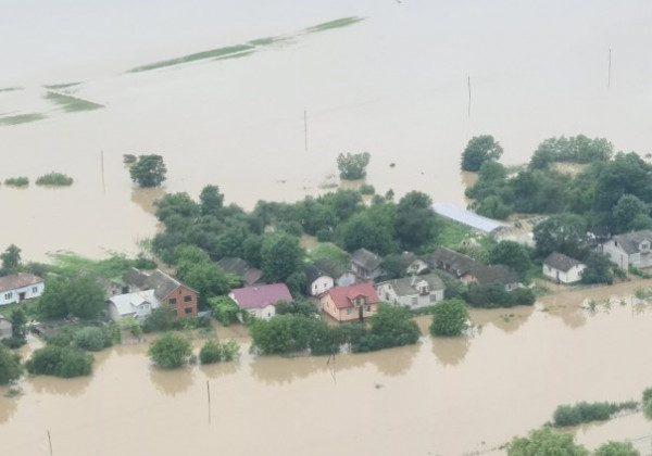 Наводнение на Западе Украины